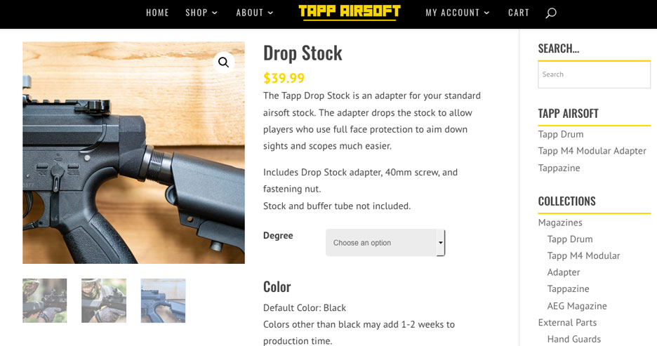 tappairsoft-drop-stock