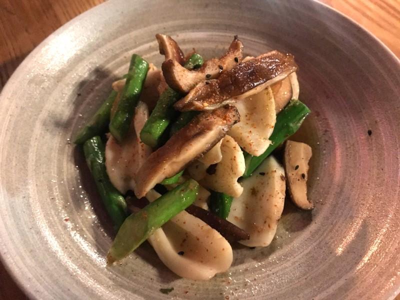 nobu squid pasta