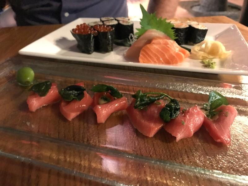 nobu toro sashimi