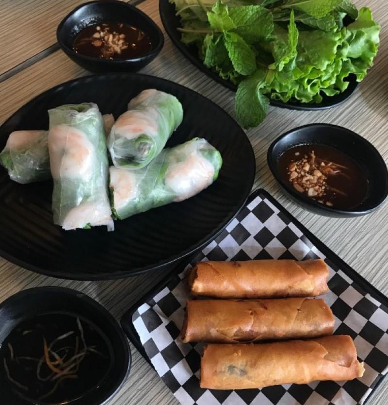 pho spring rolls